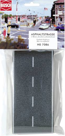 H0 Asphaltstraße (L x B) 2000 mm x 80 mm Busch 7086