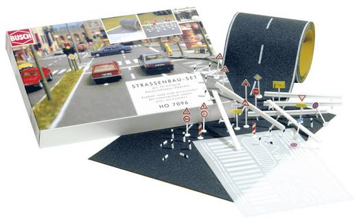 H0 Straßenbau-Komplett-Set Busch 7096