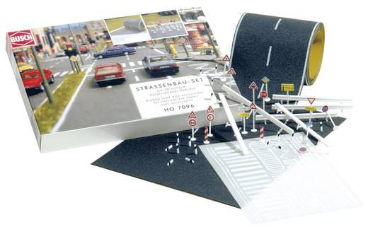 N Straßenbau-Komplett-Set (L x B) 2000 mm x 40 mm Busch 7097
