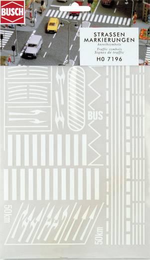 H0 Straßenmarkierungen Busch 7196