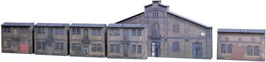Auhagen 42506 H0 Relief-Kartonbausatz mit 6 Industrie-Fassaden