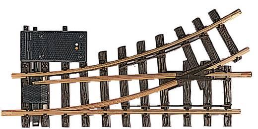 G LGB Gleis 12150 Weiche, elektrisch, links 300 mm 30 ° 645 mm