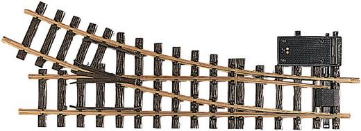 G LGB Gleis 16050 Weiche, elektrisch, rechts 440 mm 22.5 ° 1243 mm