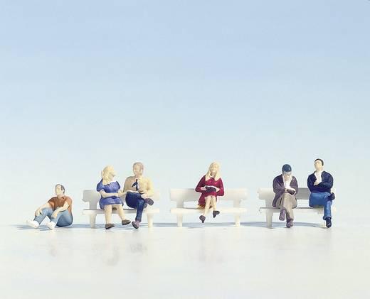 NOCH 15535 H0 Figuren Sitzende