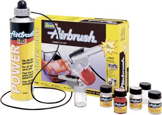 Airbrush-Einsteiger-Set mit Druckluftdose Revell 39196 39196 Single Action