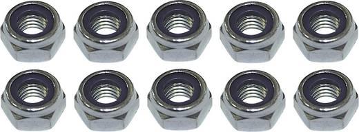 Sicherungsmutter M2.5 DIN 985 Stahl verzinkt 10 St. TOOLCRAFT 221969