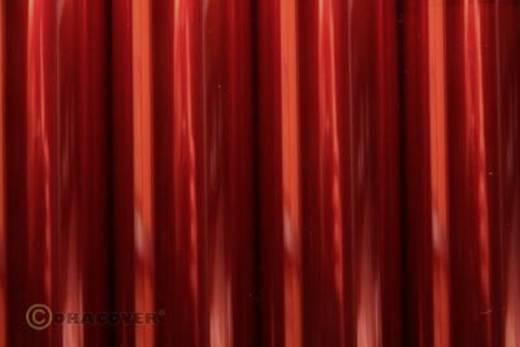 Bügelfolie Oracover 21-029-002 (L x B) 2 m x 60 cm Rot (transparent)