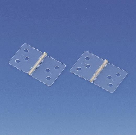 Scharnier Rechteckig Polyamid Modelcraft (L x B) 26 mm x 16 mm 20 St.