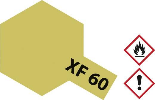 Tamiya 81360 Acrylfarbe Dunkel-Gelb Farbcode: XF-60 Glasbehälter 23 ml