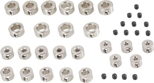 Stellring-Sortiment Passend für Welle: 2 mm, 3 mm, 4 mm, 5 mm, 6 mm Außen-Durchmesser: 7 mm, 8 mm, 8 mm, 10 mm, 10 mm Dicke: 5 mm Modelcraft 25 Teile