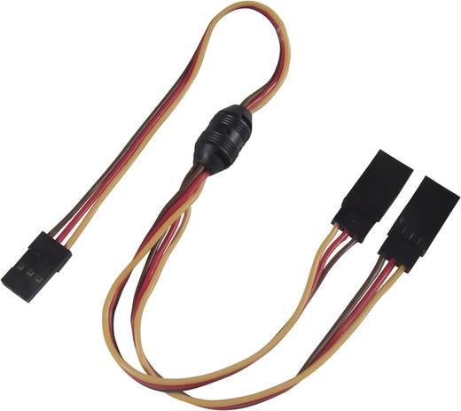 Servo Y-Kabel [2x JR-Stecker - 1x JR-Buchse] 300 mm 0.14 mm² Modelcraft