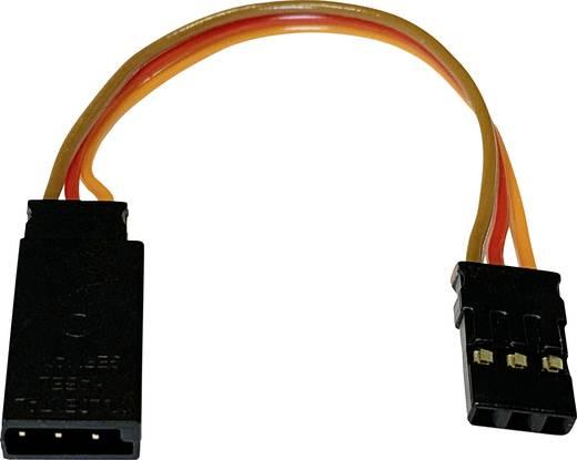 Servo Adapterkabel [1x Futaba-Stecker - 1x JR-Buchse] 90 mm 0.25 mm² Modelcraft
