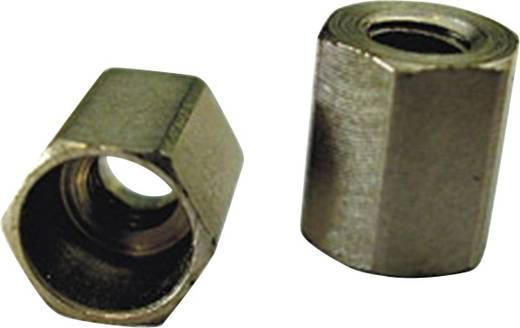 Gabelkopf-Sicherungsmutter M2 N/A Stahl 10 St. 224502