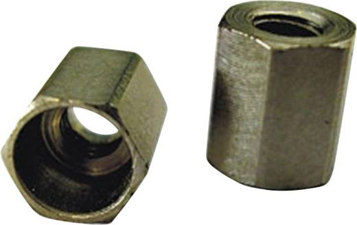 Gabelkopf-Sicherungsmutter M2 Stahl 10 St. 224502