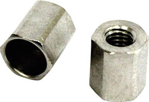 Gabelkopf-Sicherungsmutter M3 Stahl 5 St. 224510