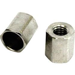 Pojistná matice s vidlicovou hlavou M3, ocel, 5 ks