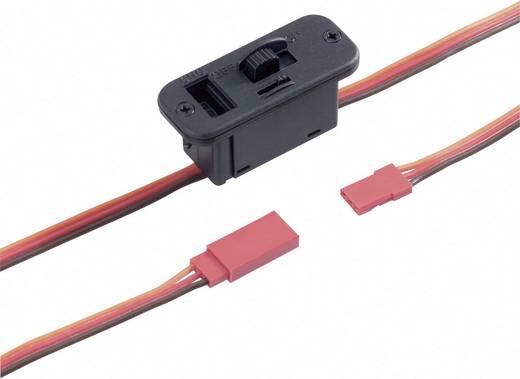 Groß Ein-/Aus-Schalterkabel [1x JR-Stecker - 1x JR-Buchse] 0.14 mm² mit Ladebuchse Modelcraft