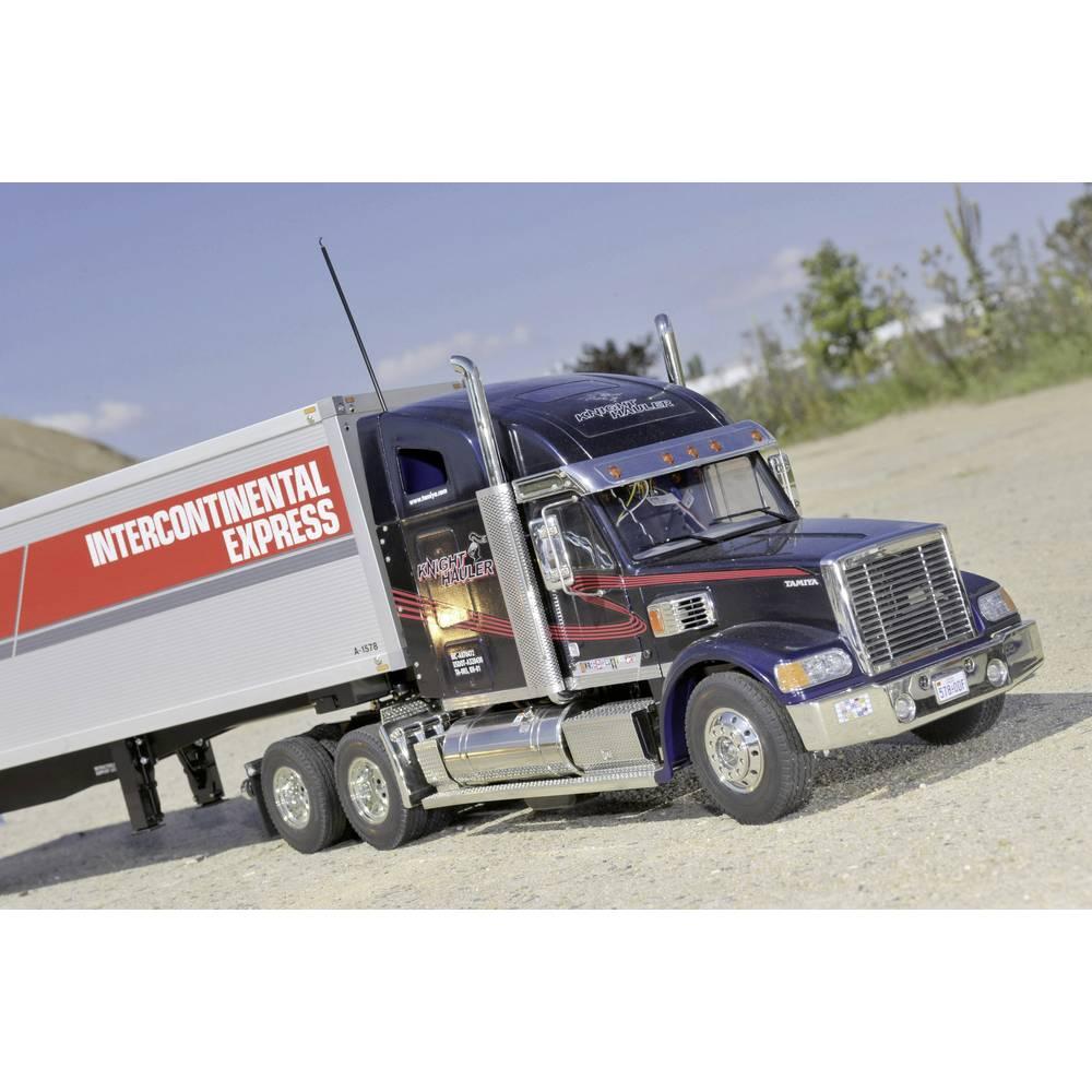 camion rc lectrique tamiya knight hauler 300056314 kit. Black Bedroom Furniture Sets. Home Design Ideas
