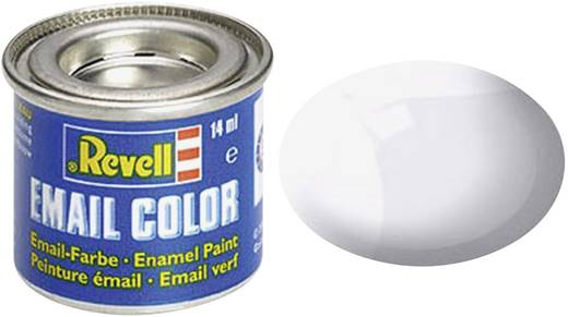 Emaille-Farbe Revell Transparent (glänzend) 01 Dose 14 ml