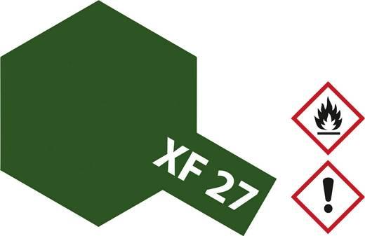 Tamiya 81327 Acrylfarbe Schwarz, Grün Farbcode: XF-27 Glasbehälter 23 ml