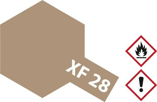 Tamiya 81328 Acrylfarbe Kupfer dunkel (matt) Farbcode: XF-28 Glasbehälter 23 ml