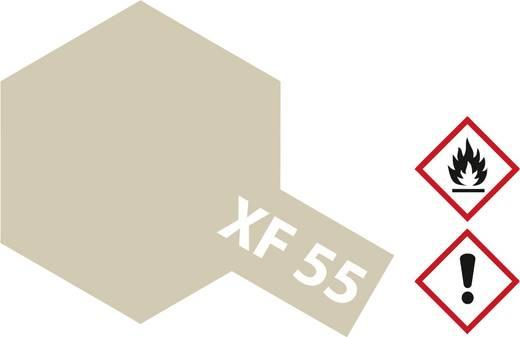 Tamiya 81355 Acrylfarbe Deck Tan (matt) Farbcode: XF-55 Glasbehälter 23 ml