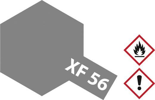 Tamiya 81356 Acrylfarbe Metallic Grau (matt) Farbcode: XF-56 Glasbehälter 23 ml