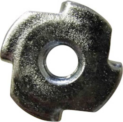 Einschlagmuttern M6 Stahl 10 St. TOOLCRAFT 226769