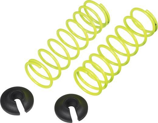 Reely 1:10 Tuning-Stoßdämpferfeder Soft Neon-Gelb 50.5 mm 2 St.