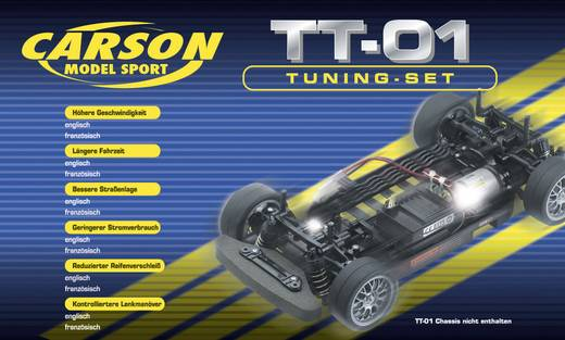 Ersatzteil Carson Modellsport 908123 TT-01(E) Tuning-Set