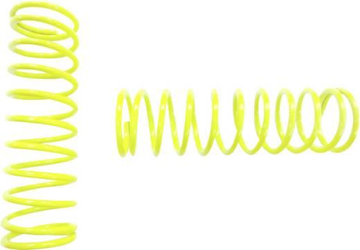 Reely 1:8 Tuning-Stoßdämpferfeder Extra Hart Neon-Gelb 65 mm 2 St.