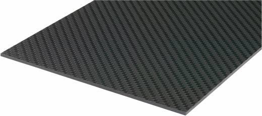 Carbonfaser-Prepregplatte Carbotec (L x B) 340 mm x 150 mm 1.5 mm