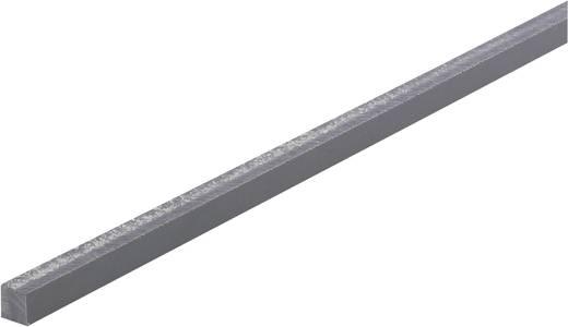 PVC Vierkant Profil (L x B x H) 500 x 10 x 10 mm