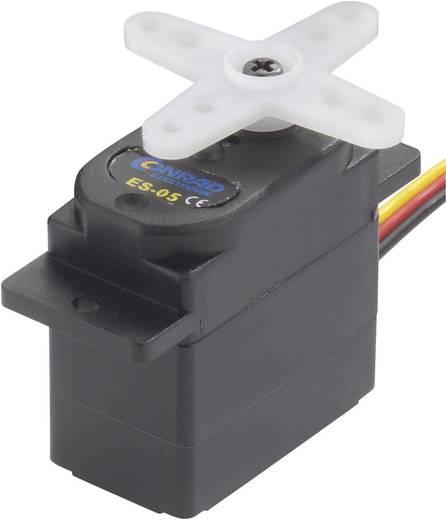 Modelcraft Mini-Servo N/A Lager Gleitlager Getriebe Kunststoff JR