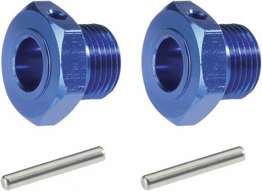 1:8 Alu-Felgenmitnehmer 17 mm 6-Kant Reely Blau (metallic) 1 Paar