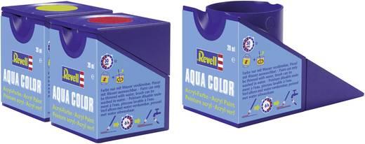 Revell 36374 Aqua-Farbe Grau (seidenmatt) Farbcode: 374 RAL-Farbcode: 7001 Dose 18 ml