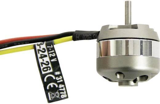 Flugmodell Brushless Elektromotor BL Outrunner 2824-26 7-12 V ROXXY kV (U/min pro Volt): 1380