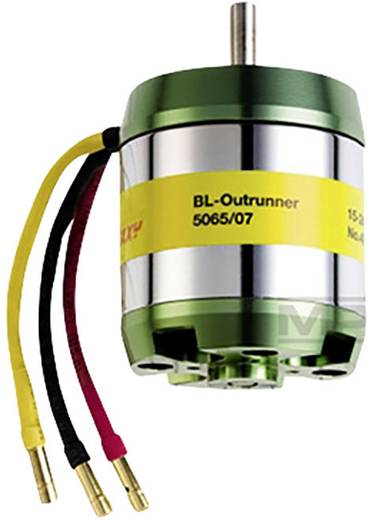 Flugmodell Brushless Elektromotor ROXXY BL Outrunner 5065-09 15-30 V kV (U/min pro Volt): 335