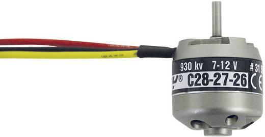 Flugmodell Brushless Elektromotor BL Outrunner 2827-26 7-12 V ROXXY kV (U/min pro Volt): 930