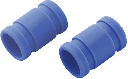Silikonverbinder (Ø x L) 20 mm x 33 mm Blau Reely Passend für: 2,49 - 2,95 cm³ Nitromotoren 1 Paar