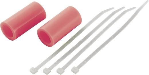 Silikonverbinder (Ø x L) 28 mm x 55 mm Neon-Rot Reely Passend für: 3,46 - 6,23 cm³ Nitromotoren 1 Paar