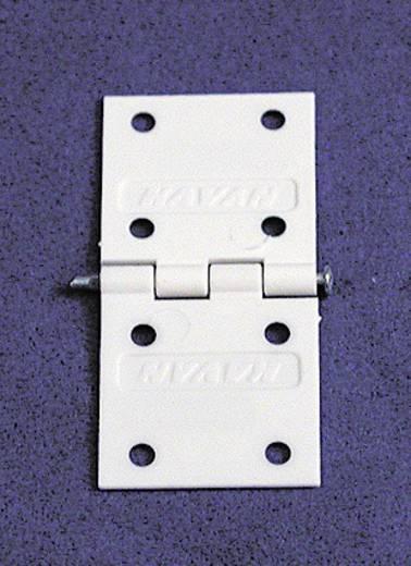 Scharnier Rechteckig Polyamid Kavan (L x B) 34 mm x 16 mm 1 Set