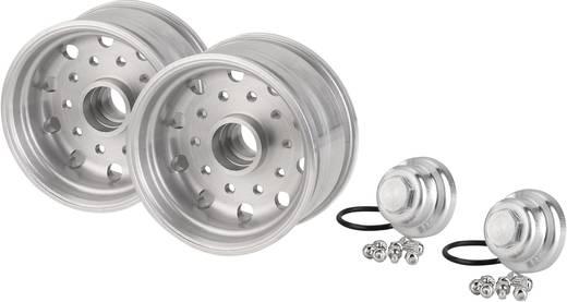 Carson Modellsport 1:14 LKW-Auflieger Felgen 27.5 mm Aluminium Euro-Optik Aluminium 1 Paar