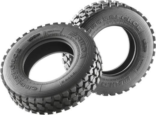 Carson Modellsport 1:14 LKW Reifen 21 mm Gelände 1 Paar