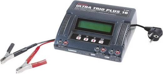 Modellbau-Multifunktionsladegerät 220 V, 12 V 10 A Graupner Ultra Trio Plus 16 NiCd, NiMH, LiPo, LiIon, LiFePO, Blei