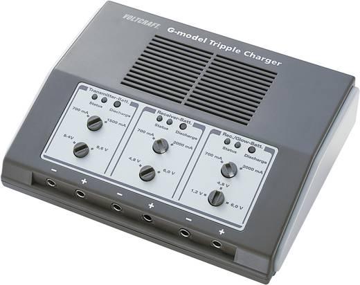 Modellbau-Ladegerät 12 V 5.5 A VOLTCRAFT G-model Tripple Charger NiCd, NiMH