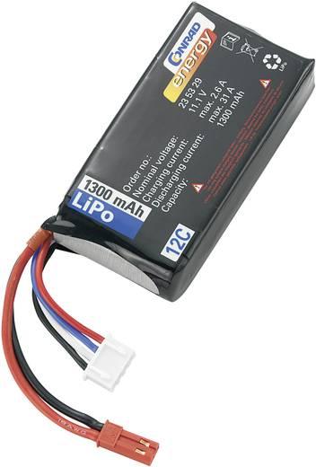 Modellbau-Akkupack (LiPo) 11.1 V 1300 mAh 12 C Conrad energy BEC