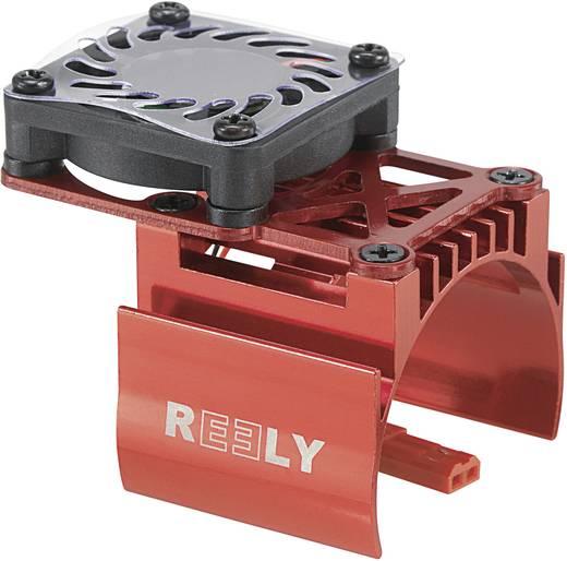 Reely Kühlkörper für 540er Motor mit Ventilator Ausführung Mittigsitzender Ventilator Farbe Rot