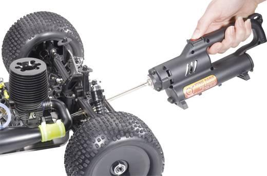 Elektrostarter Modelcraft 540 Passend für 15 - 25er Nitromotoren inkl. Motorumbauplatte