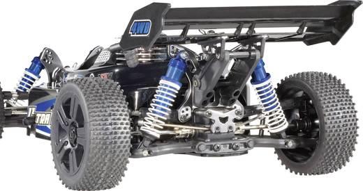Reely 1:8 Aluminium-Öldruckstoßdämpfer Blau (metallic) mit Federn Schwarz 126 mm 2 St.
